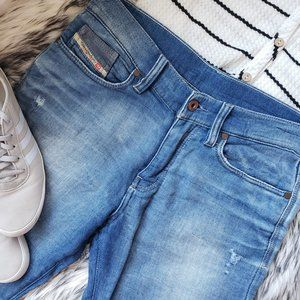 ❤Diesel Stapphy Cotton Jogg Jeans